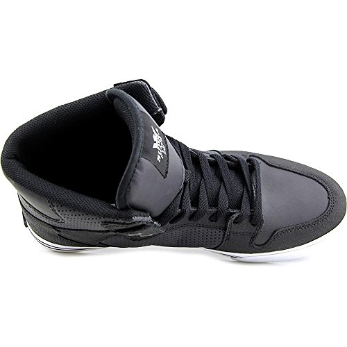Supra Vaider S28058, Sneaker Uomo Black/White