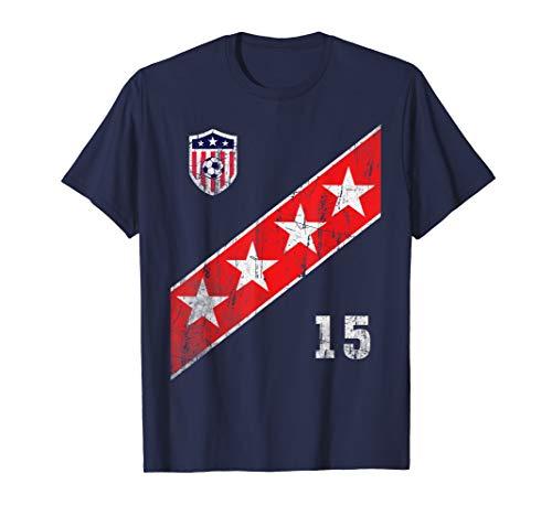 - Womens US Womens Soccer Jersey Shirt USA Fan TShirt Flag Sta