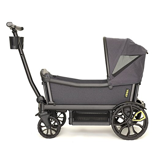 Veer Cruiser with Retractable Canopy | Next Generation Premium Stroller Wagon Hybrid by Veer (Image #9)