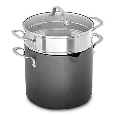 Calphalon® Classic™ Nonstick 8 qt. Covered Multi-Pot | Dual-Layer Nonstick Interior Cooking Surface