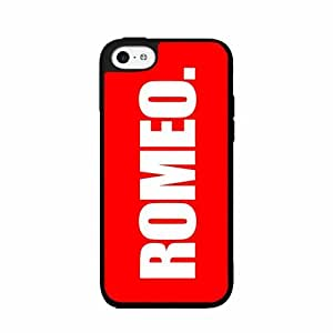 Romeo - TPU RUBBER SILICONE Phone Case Back Cover iPhone 5 5s