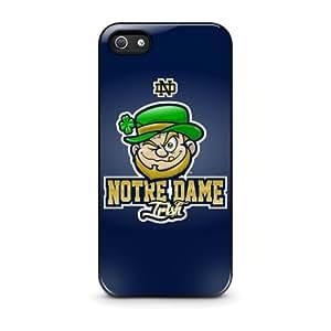 Notre Dame Fighting Irish- Funda Carcasa para Apple iPhone 4 / iPhone 4S