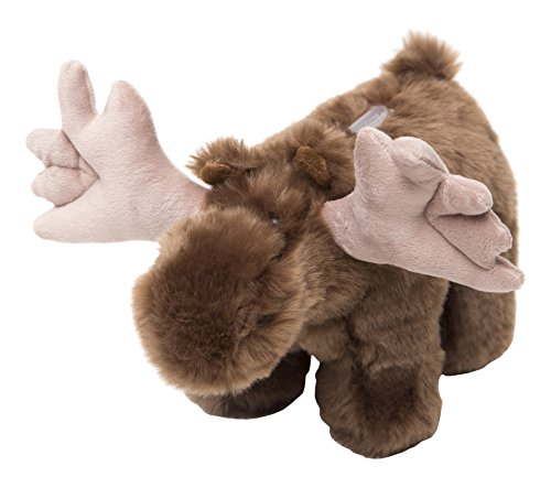 Carstens Plush Moose Kids Coin Bank -