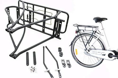 (BAFANG Black Bike Luggage Rack Bicycle Battery Rear 26