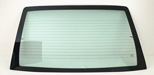 TYG Fit 2000-2007 Ford Focus 4 Door Sedan Rear Window Back Glass Heated