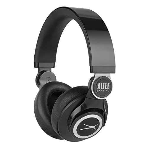 Altec Lansing MZX756-BLK KickBack Headphones, Black (Altec Lansing Audio Headphone)
