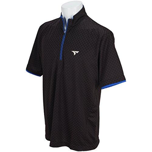 ブリヂストン TOURSTAGE 半袖シャツ?ポロシャツ 半袖ハーフジップシャツ