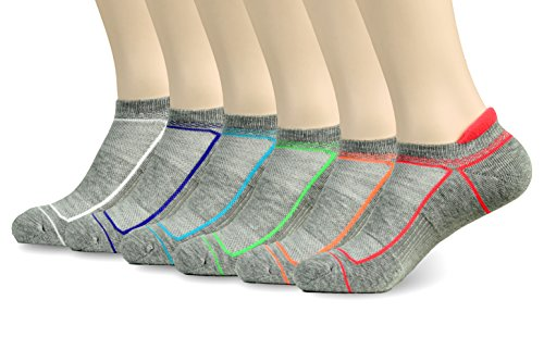 CTC Women's Cushioned Athletic Sock - Low Cut (6 Pack)