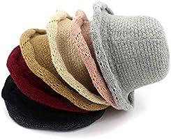 XZP Sombrero de Punto Sombrero de Pescador Plegable línea Simple ... f9e51a76fbe