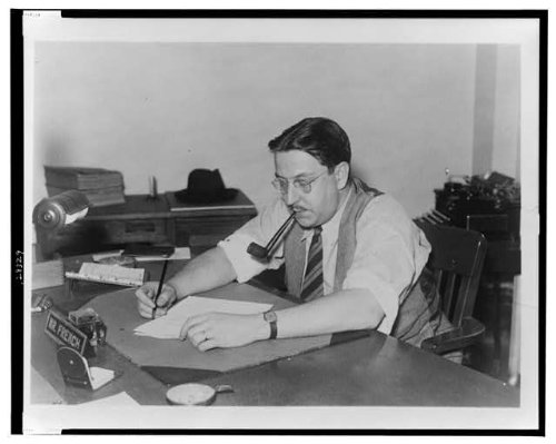 HistoricalFindings Photo: Paul Comly French,State Director of Pennsylvania Unit,WPA Federal Writers',c1942