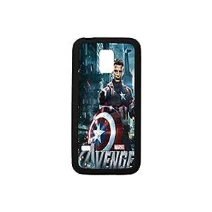 Custom case for Samsung Galaxy S5 mini - New stylish Captain America(plastic and TPU)