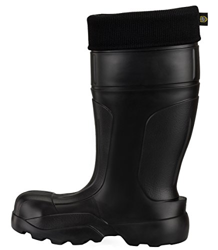 Leon Boots Co. Ultralight Men's Safety 1st EVA Non-Slip Boots, Size US 12-1/2, EU 46, Black by LBC Leon Boots Co (Image #6)