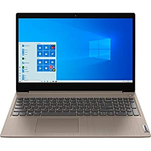 2020 Newest Lenovo IdeaPad 3 15″ HD Touch Screen Laptop, Intel 10th Gen Dual-Core i3-1005G1 CPU, 8GB DDR4 RAM, 256GB PCI-e SSD, Webcam, WiFi 5, Bluetooth, Windows 10 S – Almond