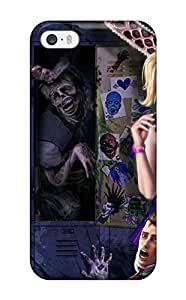 Hot Design Premium FONSkpP2401YdUDR Tpu Case Cover Iphone 5/5s Protection Case(lollipop Chainsaw)