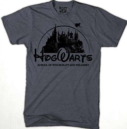 Hogwarts Playera Hombre Rott Wear