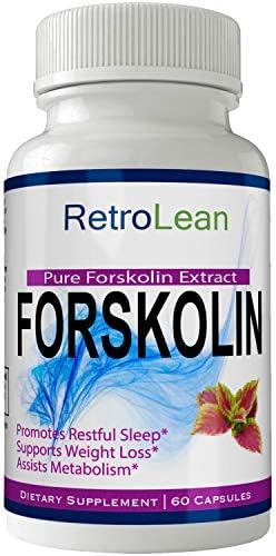 Retro Forskolin Weight Tablets Supplement