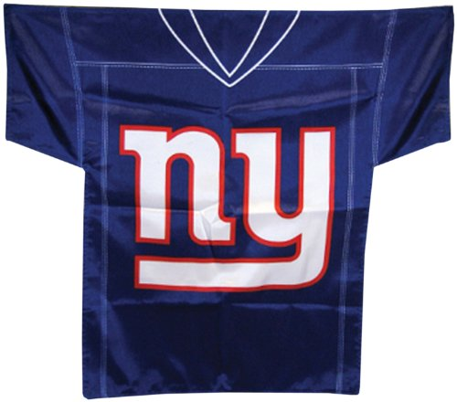 NFL New York Giants Jersey Banner (34-by-30-Inch/2-Sided)