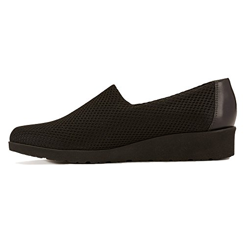 Walking Cradles Womens Fern Flat Black Mesh