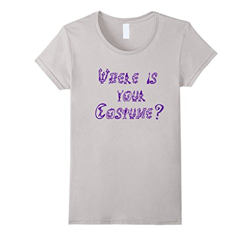 Female Dracula Costumes (Womens Where is your Costume ? Halloween Mystery Dracula October Large Silver)