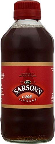 Sarsons Malt Vinegar 284ml - Pack of 3