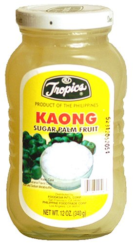 Tropics Sugar Palm Fruit - Kaong, 12-Ounce Jars (Pack of 3) by Tropics (Image #1)