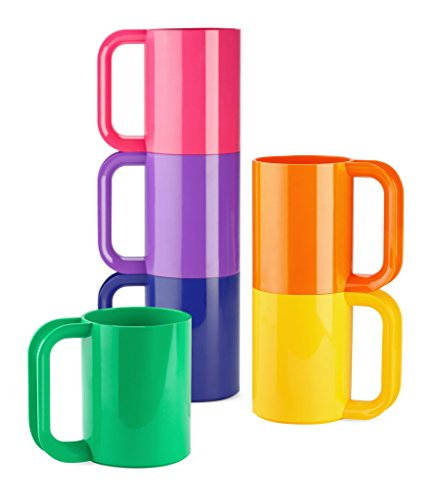 Heller Dinnerware Vignelli Rainbow Mug - Set of 6