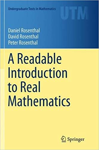 Book A Readable Introduction to Real Mathematics (Undergraduate Texts in Mathematics)