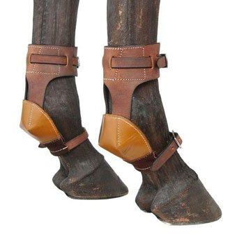 Tough 1 Leather Skid Boots (Twist Latigo Leather)