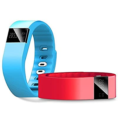 SunRise® TW64 Bluetooth Smart Watches Smartband Smart sport bracelet Wristband Fitness Tracker Bluetooth 4.0 Watch for ios android better than mi band Smart Fitness Tracker Wristband - Black Color