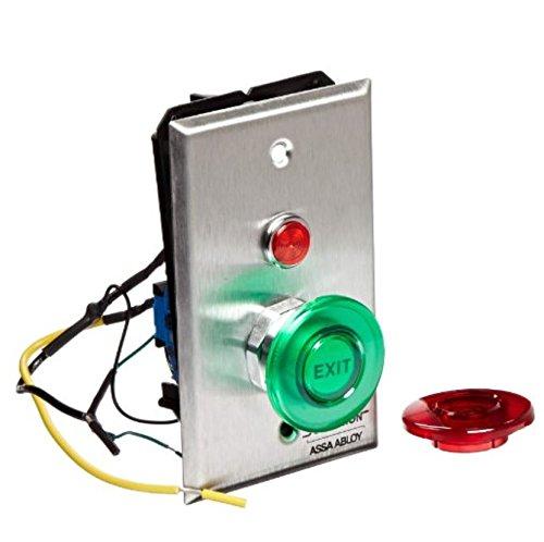 Securitron Push Button (Securitron Single Gang Momentary Push Button, DPST, 7Amps, 1.5
