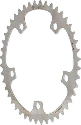 Surly Kettenblatt Ring, 5-Loch, Edelstahl, silber, 48 Zoll x 130mm, CR0067