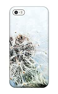 Forever Collectibles White Dandelion Hard Snap-on Iphone 5/5s Case