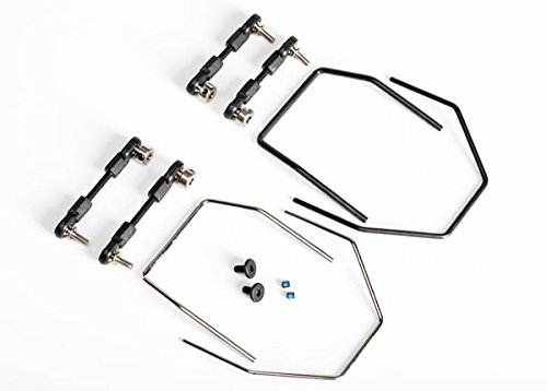 (Traxxas XO-1 Sway Bar Kit Includes Front and Rear Sway Bars and Linkages )