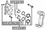04478-0E030 - Cylinder Kit For Toyota