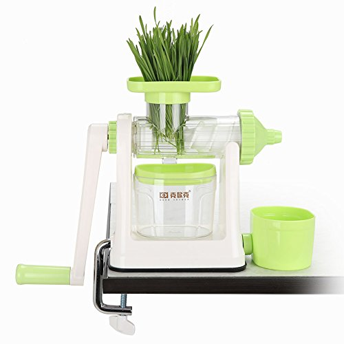 Manual Wheatgrass Juicer Green Fruit - Vegetable Maker by valuetools (Main Manual)