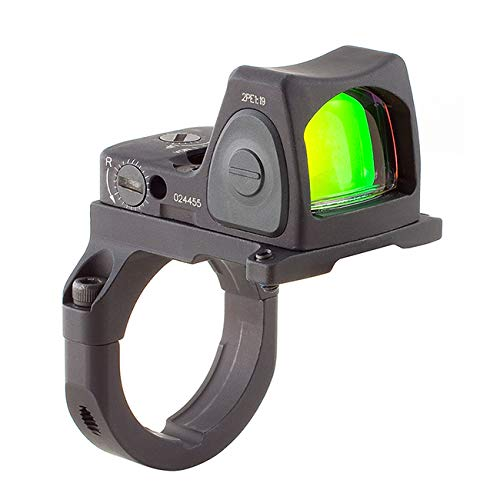 Trijicon RM07-38 RMR 6.5 MOA Adjustable LED Red Dot Sight with RM38 Full Size ACOG Mount without Bosses