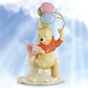 Lenox Disney Winnie the Pooh Friends Lift You Higher Figurine