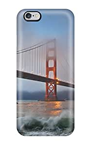 Ivan Erill's Shop Hot Hot Case Cover Protector For Iphone 6 Plus- Golden Gate Bridge