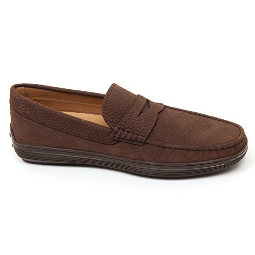 Loafer D0132 Marrone Mocassino Shoe Scarpa Marrone Tods Man Uomo OdS7Wq
