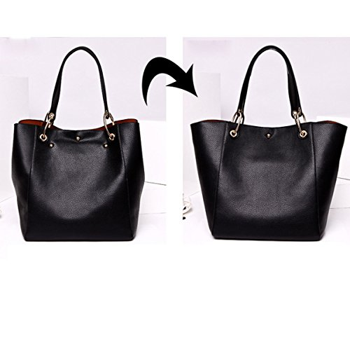 Da Shopping Donna Black Borse Borsa BSnaqf0ww