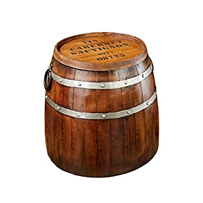 Design Toscano French Vineyard Decor Wine Barrel