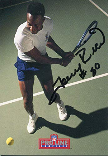 (Jerry Rice Autographed 1992 Pro Line)