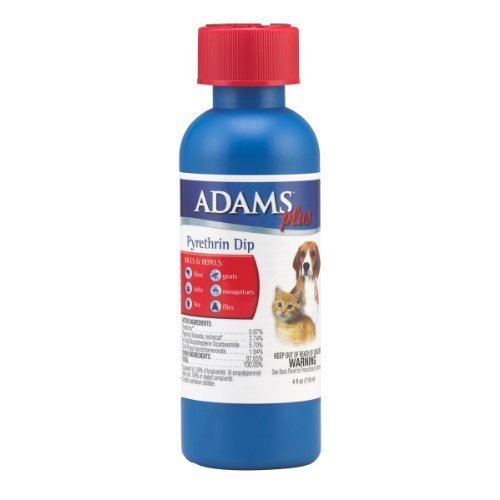Adams Plus Pyrethrin Dip, 4-ounce, My Pet Supplies
