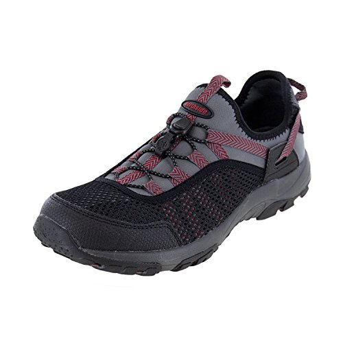 Northside Men's Waverunner Water Shoe, Dark Gray/Red, Size 9 M US