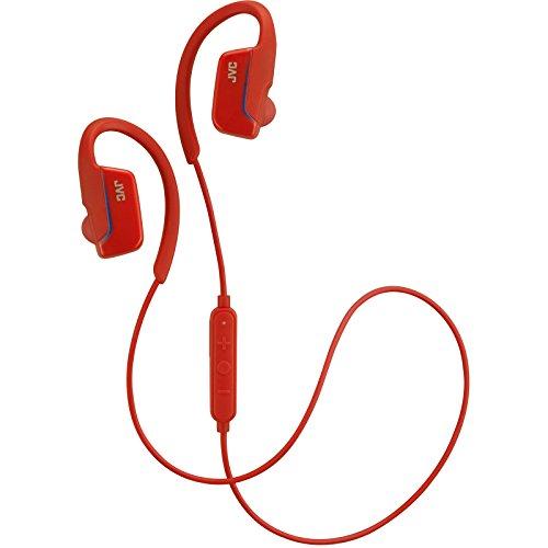 JVC HA-EBR80R Sport Ear Clip Headphones with Remote & Mi