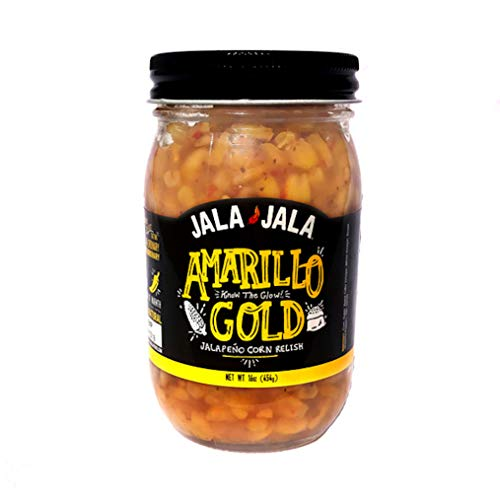 Jala Jala, Corn Relish Amarillo Gold, 16 ()