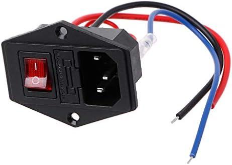 JOYKK Impresora 3D Enchufe Tipo U Interruptor Adaptador Socket con ...