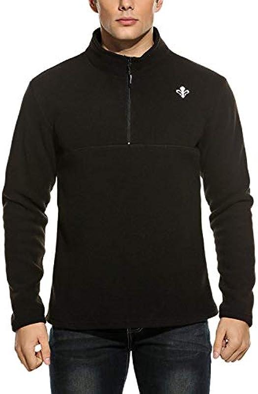 Męska bluza polarowa kurtka męska kurtka kurtka sportowa streetwear Sweat kurtka outdoorowa z zamkiem błyskawicznym: Odzież
