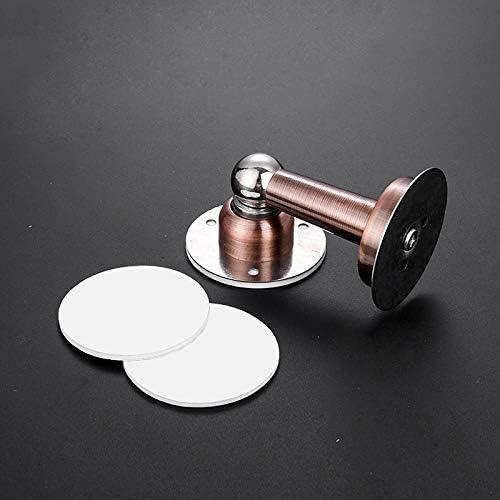 Color : 3 Stainless Steel Magnetic Door Stopper Sticker Hidden Door Holders Catch Floor Wall Mounted Nail-free Doorstop Door Hardware