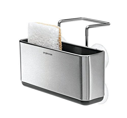 simplehuman Caddy Brushed Stainless Steel product image
